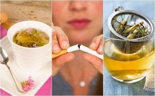 5 Tees, die das Verlangen nach Zigaretten reduzieren
