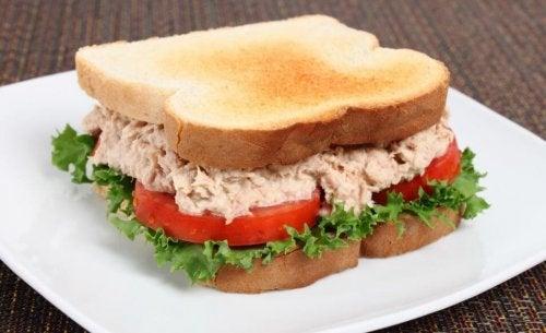 Thunfischsandwich