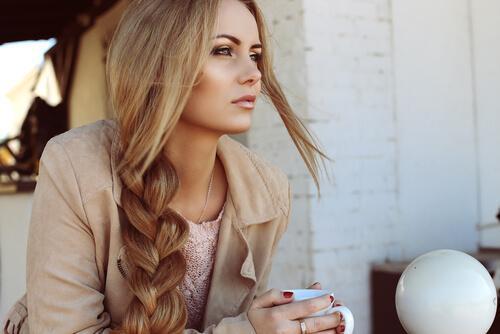 Gesundes, voluminöses Haar