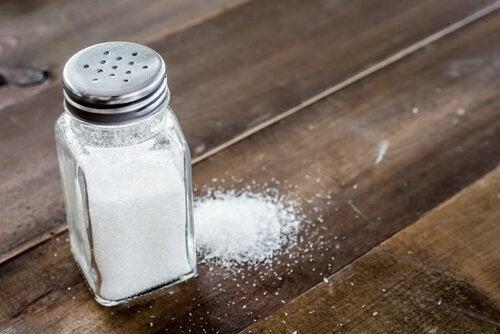 Arten von Salz: Tafelsalz