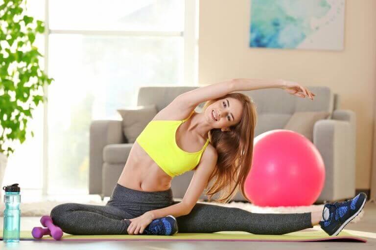 Die Tageszeit für das Training: Stretching