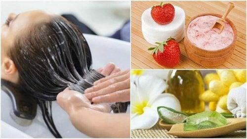 5 natürliche Haarpflegemittel