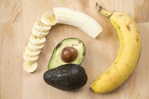 Blasen an den Füßen Banane