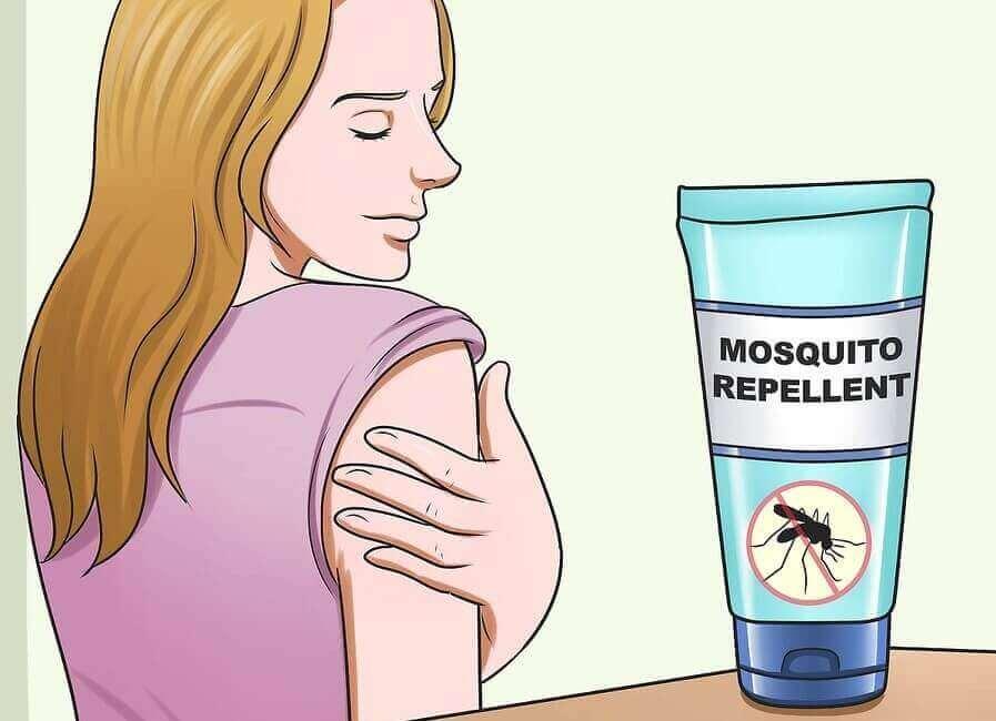 Selbstgemachter Mückenschutz