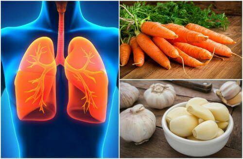 Richtige Ernährung für die Gesundheit der Lunge