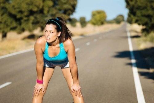 auf nüchternen Magen keinen Sport treiben