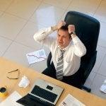Stress auf der Arbeit belastet das Herz