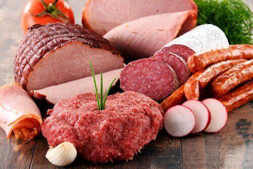 Fleisch und frühe Wechseljahre