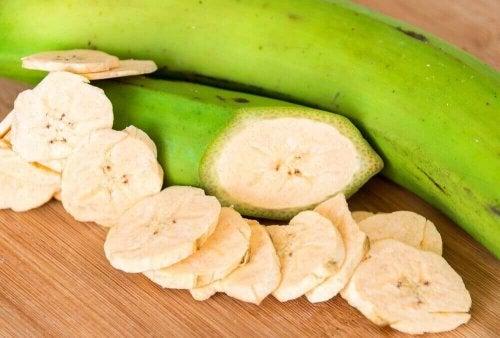 Vorteile der grünen Bananen
