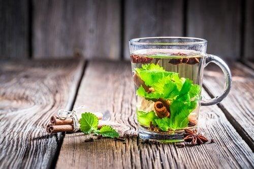 grüner Tee mit Zimt