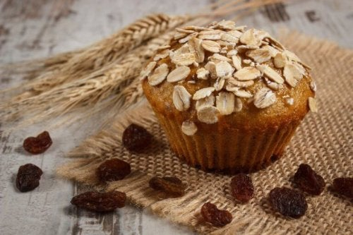 Gluten- und laktosefreie Hafer-Muffins