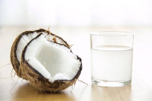 Kokoswasser für bessere Thrombozytenwerte