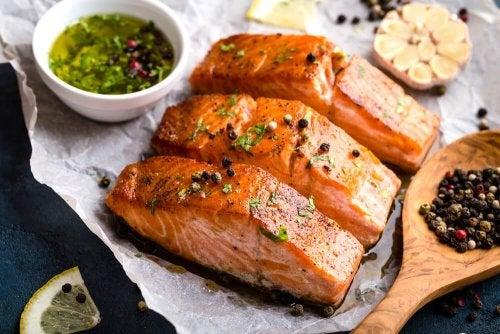 Rezepte mit Fisch: Gegrillter Lachs