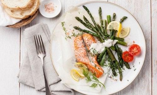 Wochenmenü für eine kohlenhydratarme Ernährung