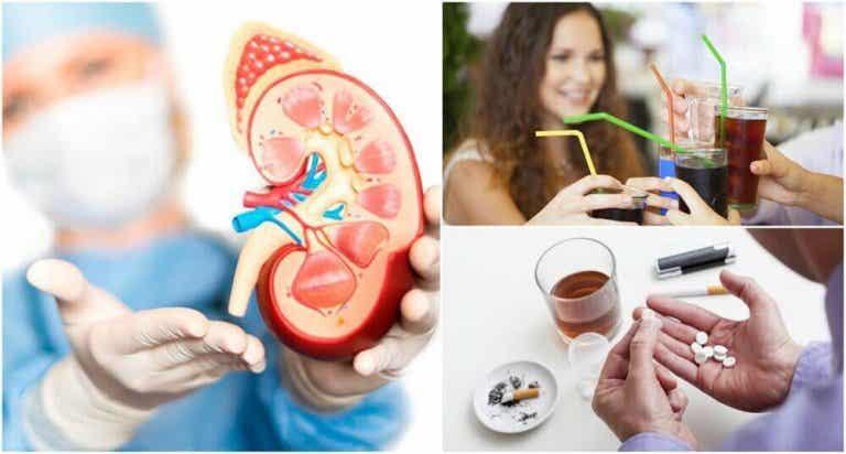 8 Angewohnheiten, die Nierenschäden verursachen