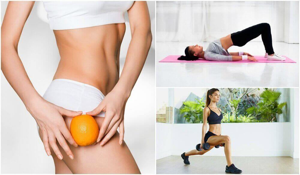 5 Übungen gegen Cellulite an Gesäß und Oberschenkeln