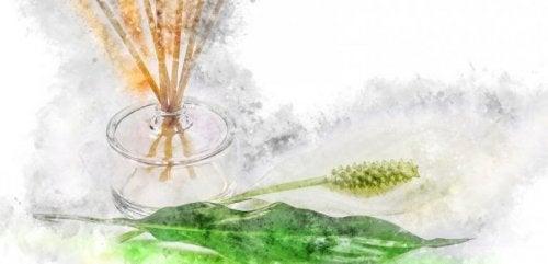 Parfümfläschchen als Lufterfrische
