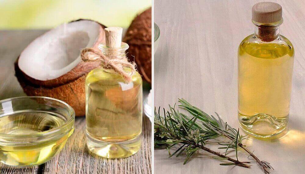 Pflegelotion aus Kokosnuss-, Grapefruit- und Rosmarinöl