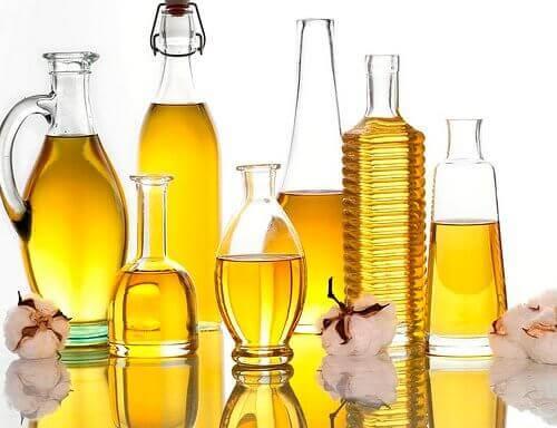 Pflanzliche Öle für eine schlankmachende Pflegelotion