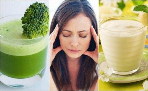 5 köstliche, selbstgemachte Smoothies gegen Stress