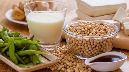 Soja enthält natürliche Hormone