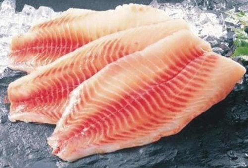 Tilapia-Fisch enthält Protein.