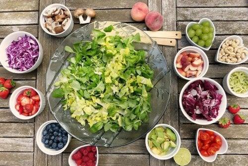 6 schnelle und einfache Salate