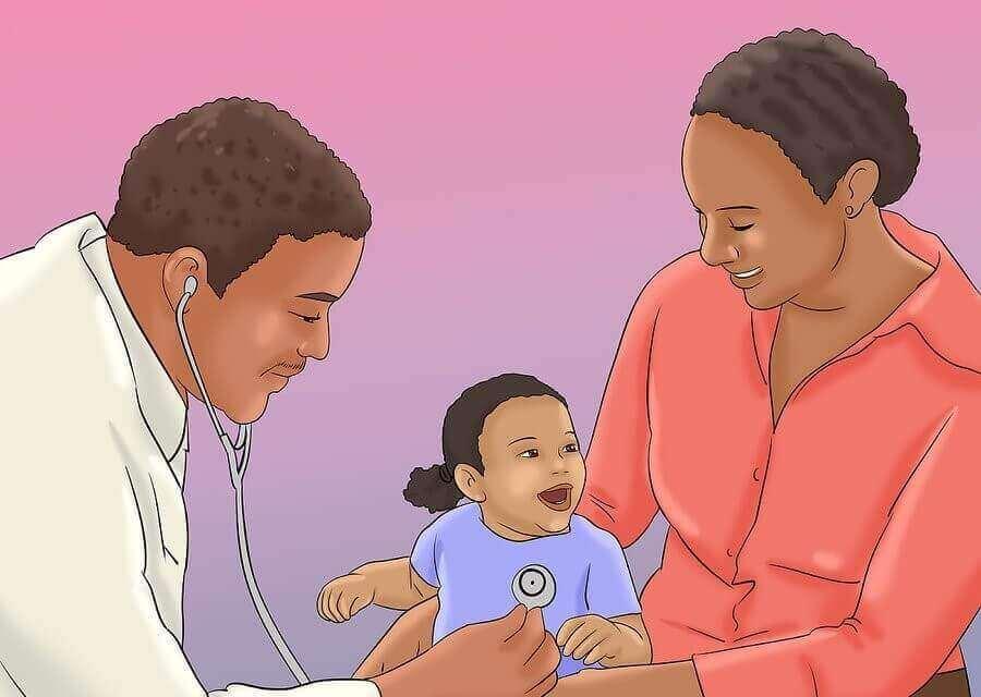 Wann Babys zum Arzt müssen