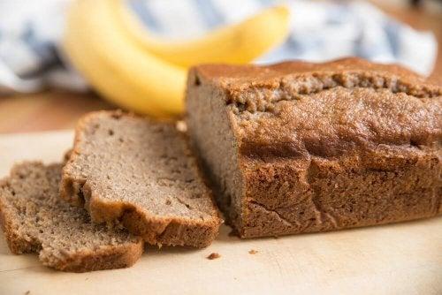 Einfaches Bananenbrot (gluten- und laktosefrei)
