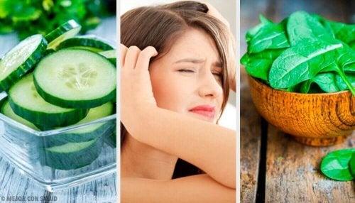Kopfschmerzen bekämpfen mit diesen 11 Lebensmitteln
