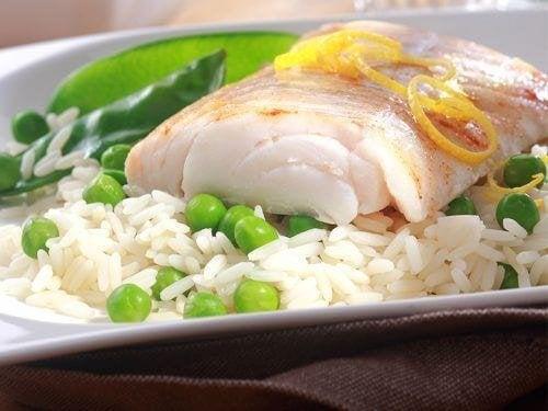 Lebensmittel-Kombis: Fisch und Reis