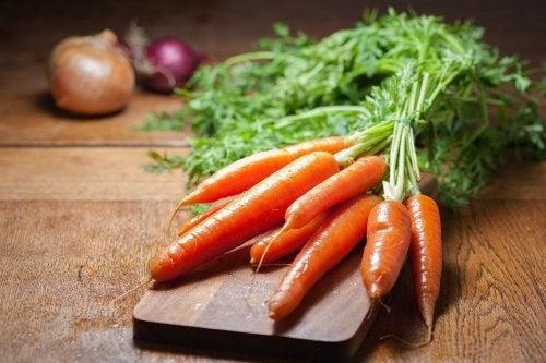 Möhren für schnelle und einfache Salate