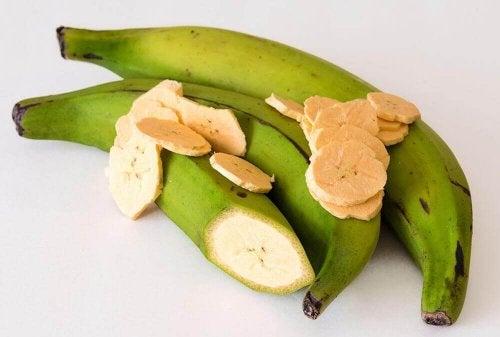 Patacones aus Kochbananen