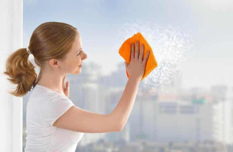 Tipps für saubere Glasoberflächen und Fenster