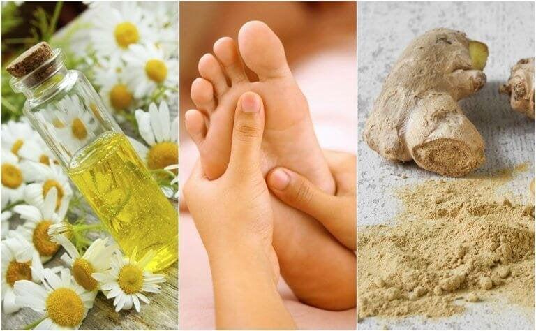 Strapazierte Füße beruhigen mit diesen 6 Heilmitteln