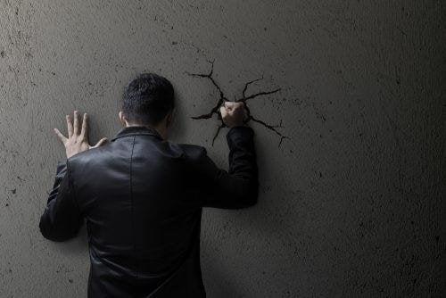 Unterdrückte Gefühle verursachen Ängste
