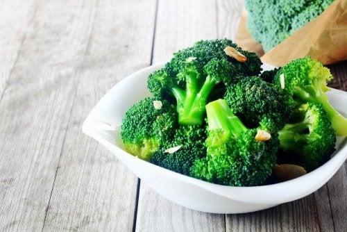 Brokkoli ist sehr gesund
