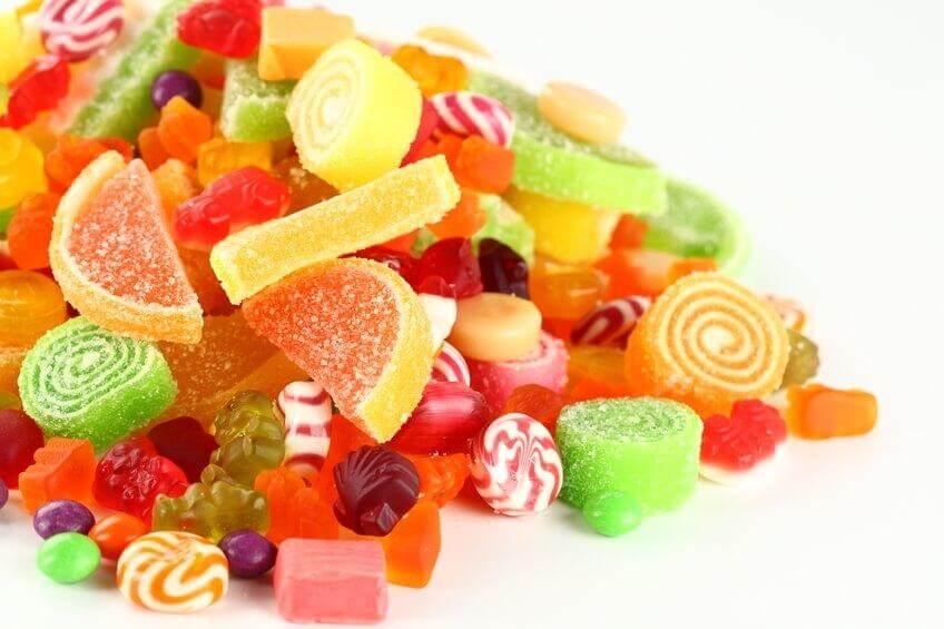 Cellulite verschlimmern: Süßigkeiten