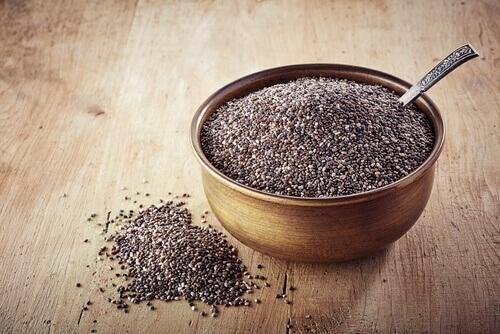 Chia-Samen gegen Arterienverkalkung.