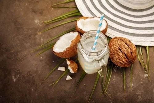 """Einen """"Kater"""" kann man mit Kokosnusswasser kurieren"""