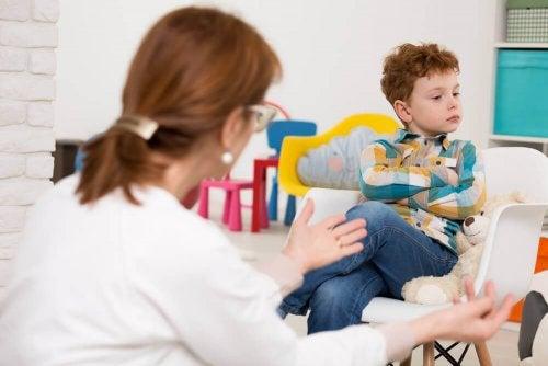 Ein liebevolles Kind muss sich sicher fühlen