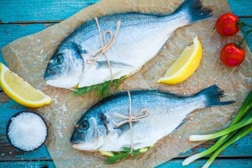 Frittiertes Fischfilet