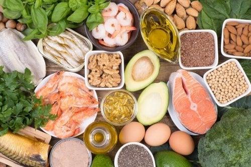 gesunde Ernährung verhindert eine Gewichtszunahme