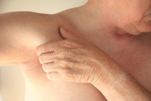gezerrte Muskeln führen zu Unterarmschmerzen
