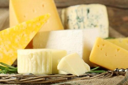 Käse für Monte Cristo Sandwich
