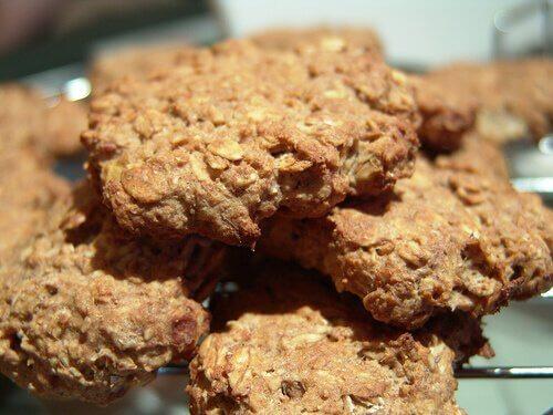 Köstliche Kekse mit Haferflocken ohne Zuckerzusatz