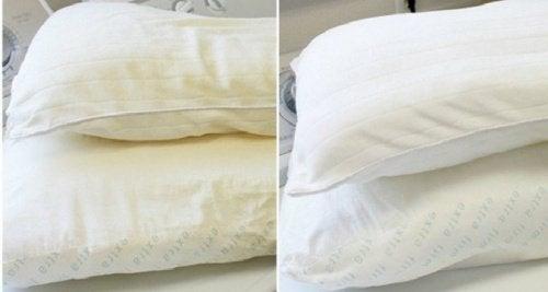 4 Arten, Kopfkissen zu reinigen und desinfizieren