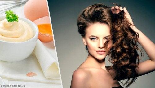 5 Mayonnaise-Haarmasken für umwerfend weiches Haar