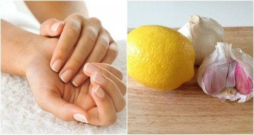 Mit Knoblauch und Zitrone deine Nägel stärken