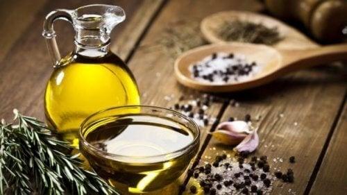Natürliche Mittel gegen Schnarchen und Olivenöl